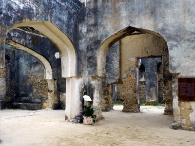 Принцесса Сальме, Руины Дворца Мтони, плантации специй